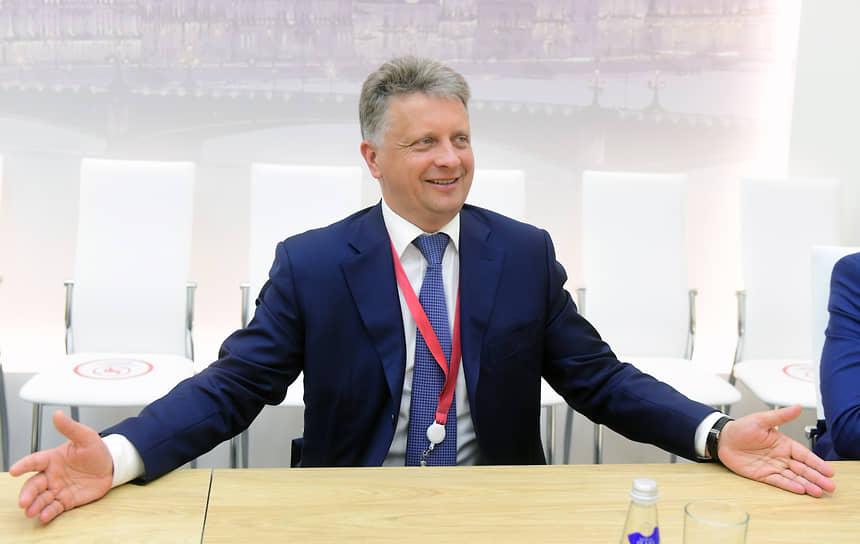 XXIV Петербургский международный экономический форум. Вице-губернатор Санкт-Петербурга Максим Соколов