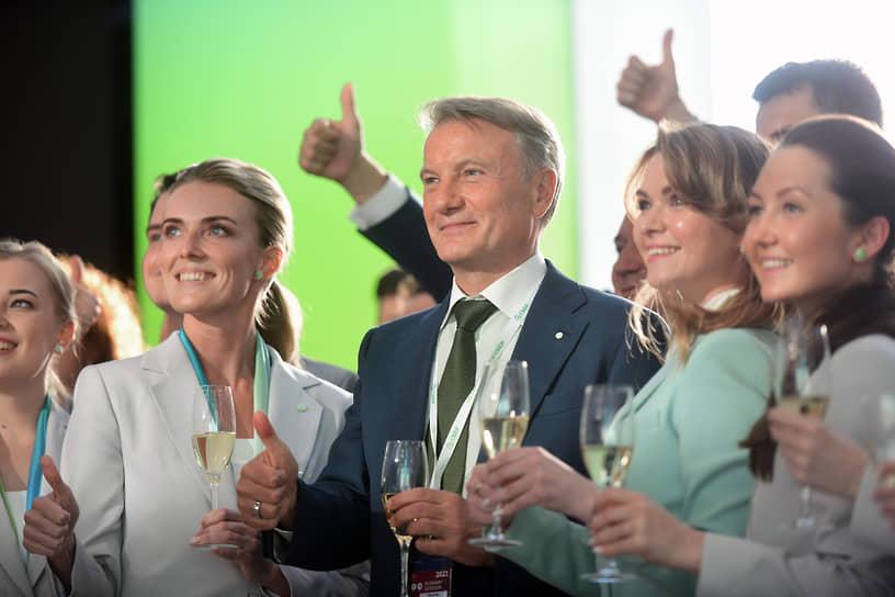 XXIV Петербургский международный экономический форум (ПМЭФ) 2021. Президент, председатель правления Сбербанк Герман Греф