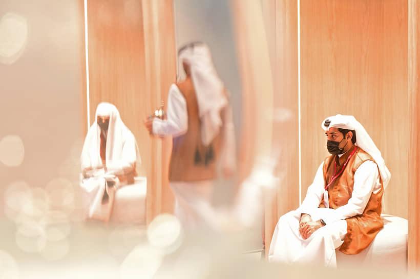 XXIV Петербургский международный экономический форум (ПМЭФ) 2021. Участники делегации Катара, страны-гостя.