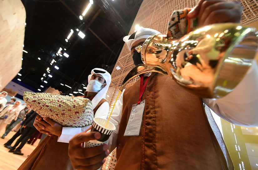 XXIV Петербургский международный экономический форум (ПМЭФ) 2021. Участники делегации Катара, страны-гостя форума
