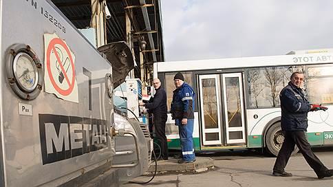 Автобусы заправят по-новому  / транспорт