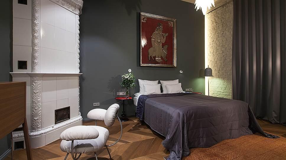 Интерьер аппартаментов «Голландия» в отеле Villa Perlov в Петербурге