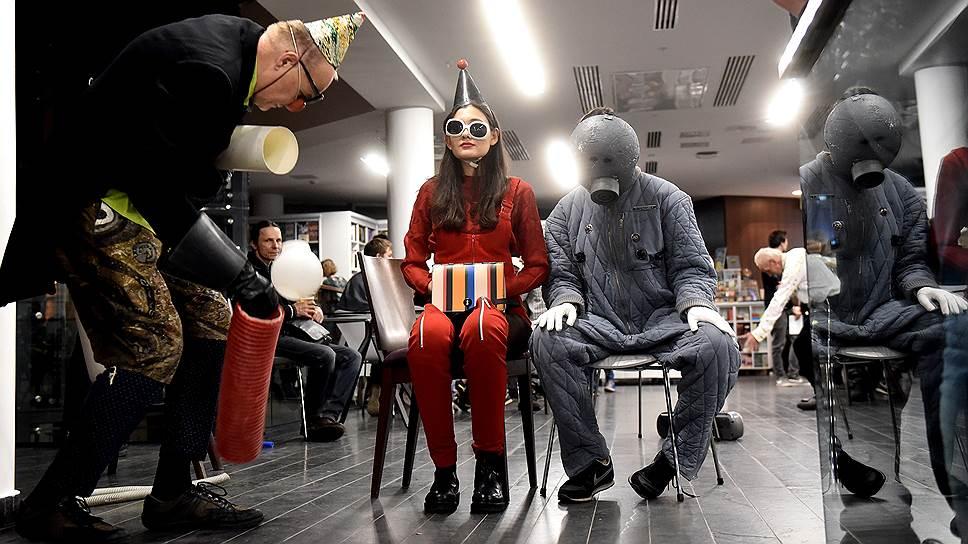 Открытие Международного фестиваля Сергея Курехина SKIF (Sergey Kuryokhin International Festival) на малой сцене Александринского театра