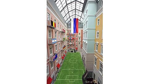"""""""Мезонин"""" принимает мяч  / Рестораны"""