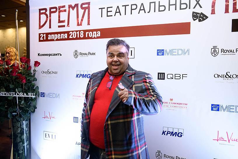 Актер, сценарист, режиссер, теле- и радиоведущий Сергей Рост