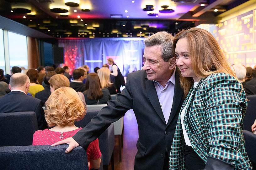 Актер театра и кино Борис Смолкин и фотограф Татьяна Горовикова