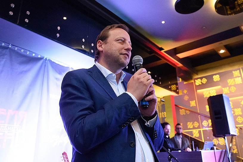 Генеральный директор отеля «Санкт-Петербург» Андрей Петелин