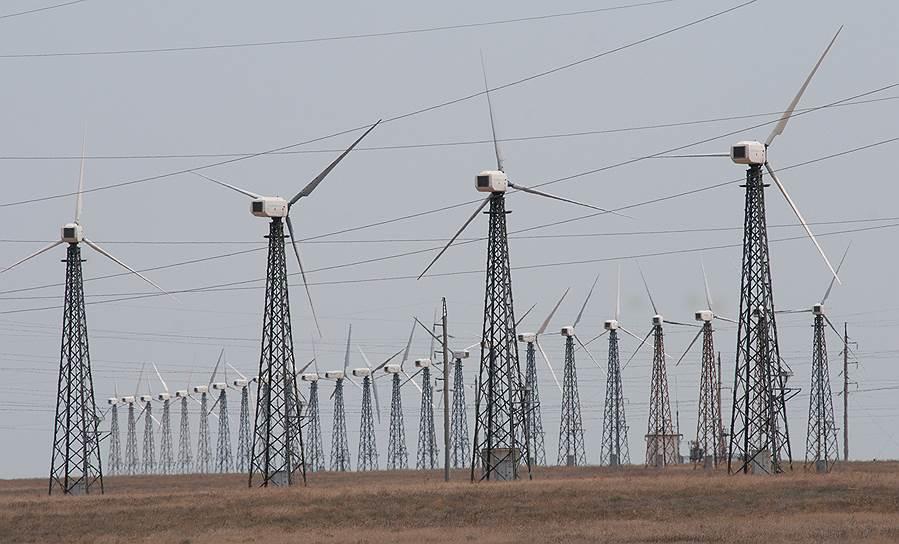 Доля ветровых электростанций в энергобалансе в прошлом году не изменилась и осталась на уровне 0,06%