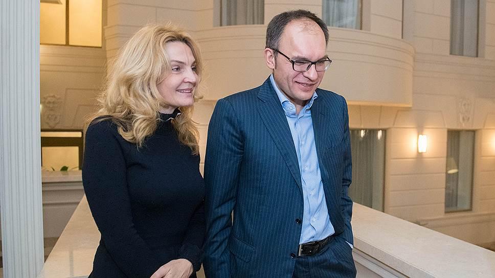 Совладелец компании «Группа ЮСТ» Игорь Метельский с супругой Натальей