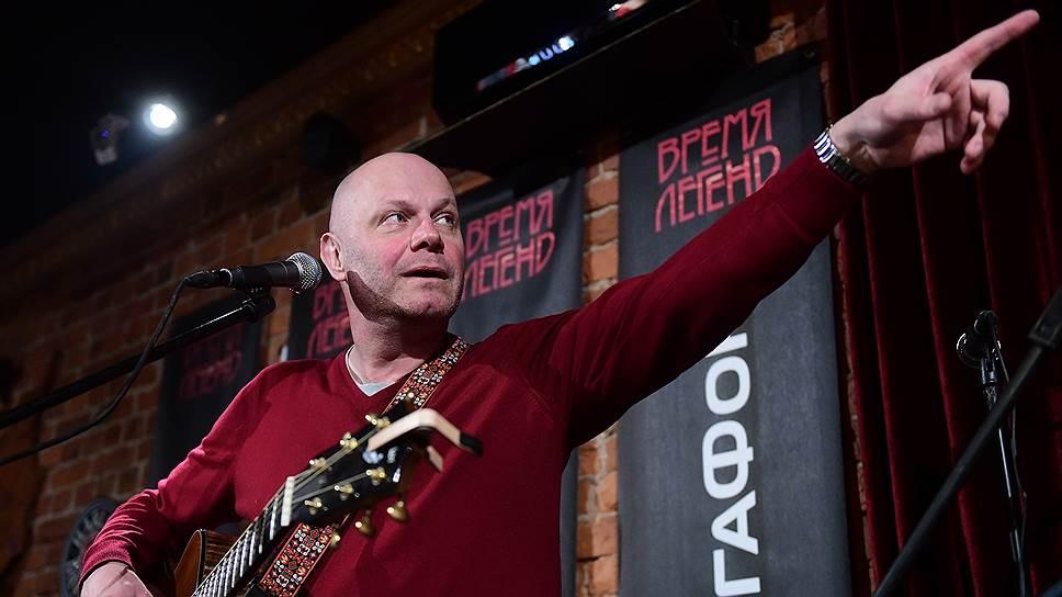 Лидер группы «Несчастный случай» Алексей Кортнев