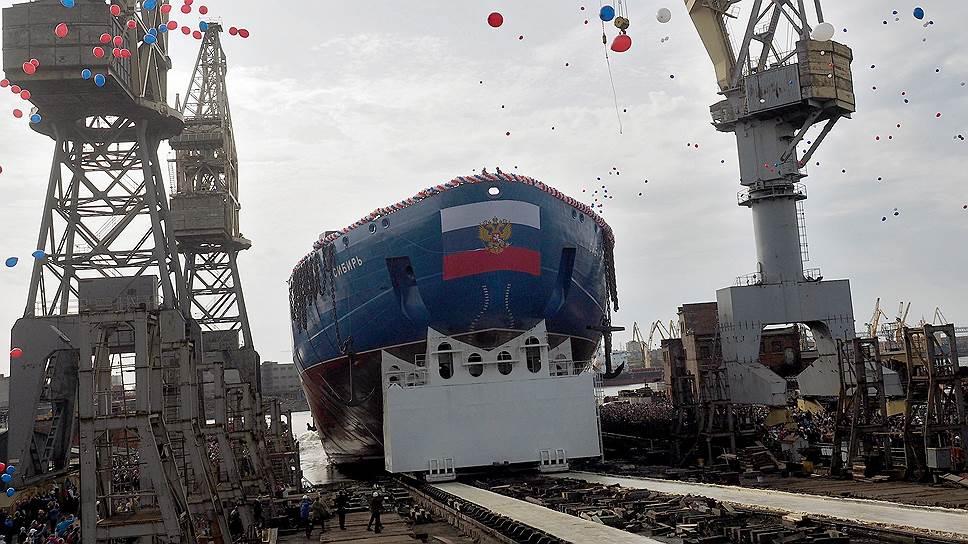 В Петербурге крупнейшим производителем промышленной продукции для нужд судостроения в Арктической зоне является Балтийский завод