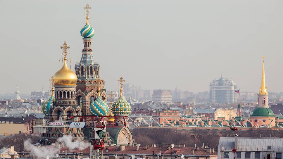 Утраченных доминант в исторической части Петербурга довольно много