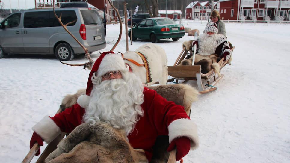 Йоулупукки и Дед Мороз встречаются каждый год