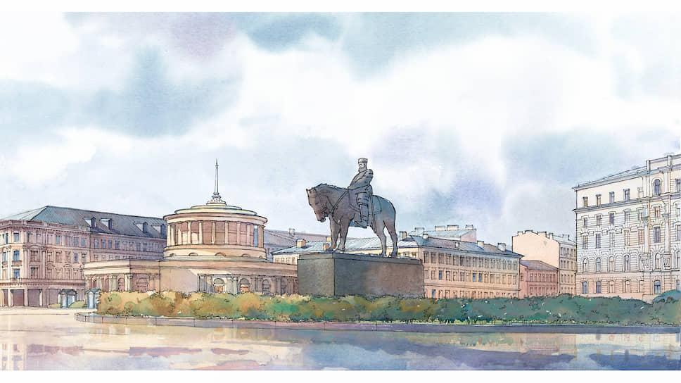 Несчастный бронзовый монарх чудом избежал переплавки, как многие другие царские памятники в Петербурге
