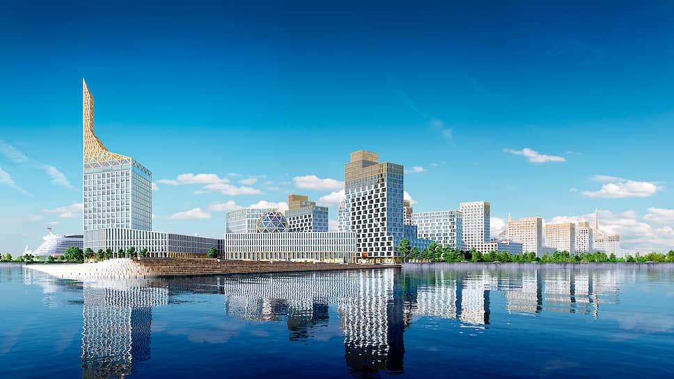 Проект Golden City начался с идеи создания нового Санкт-Петербурга на западной границе города с видом на Финский залив