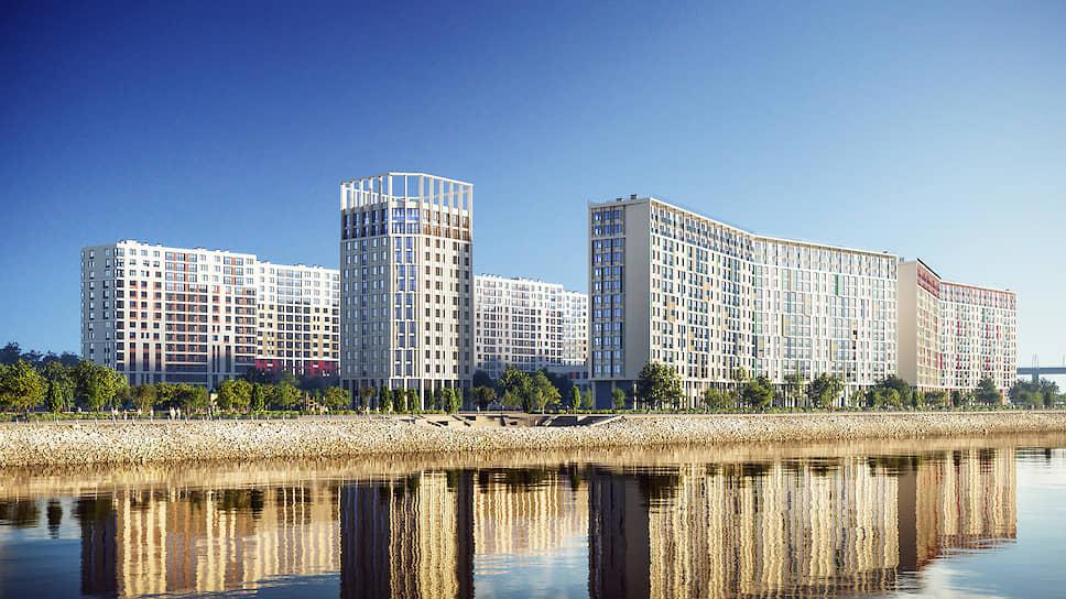 Комплексное освоение намывных территорий даст покупателям возможность жить в среде с новой инфраструктурой и автономностью проживания в рамках полноценного городского квартала
