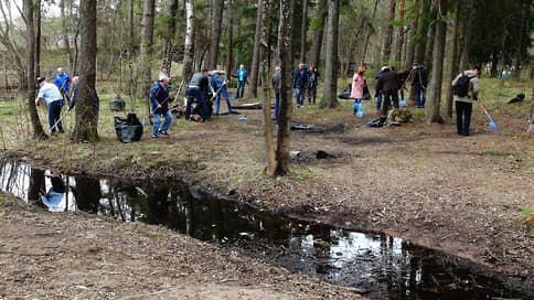 Путь мусора проверят по QR-коду  / Очистка лесов и парков