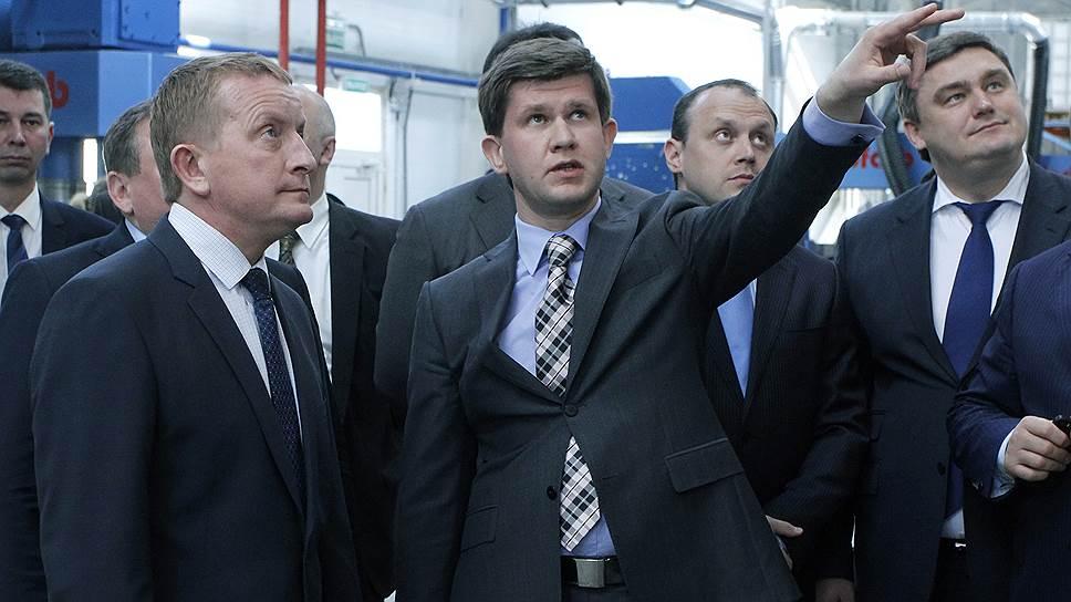 Гендиректор ростов-ского ЛКЗ Сергей Никитин (справа) планирует удвоение мощности предприятия