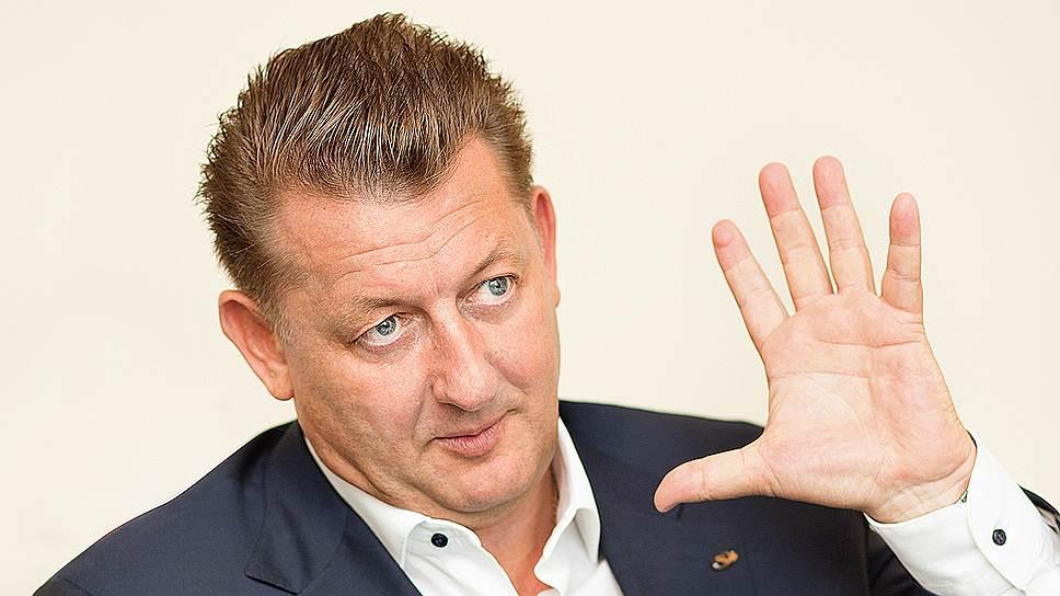Президент строительной корпорации «Девелопмент-Юг» Сергей Иванов.