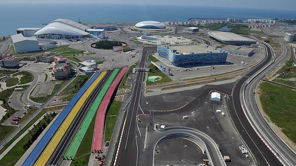 Организация Олимпиады и гонок «Формула-1» определила стоимость строительства и содержания объектов, не сопоставимую с потенциальным доходом от коммерческого оборота.