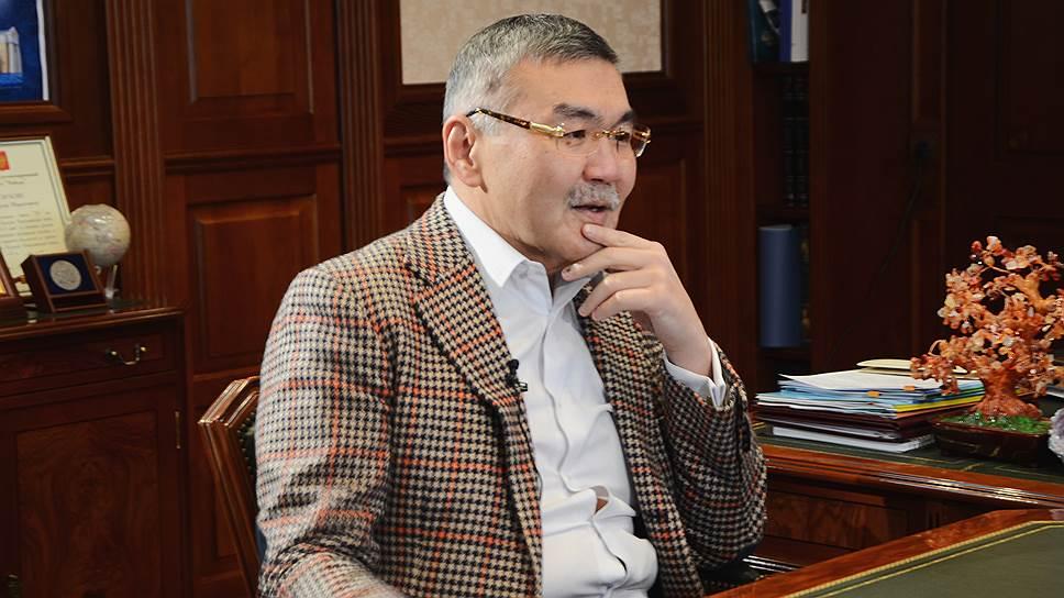Глава Калмыкии Алексей Орлов.