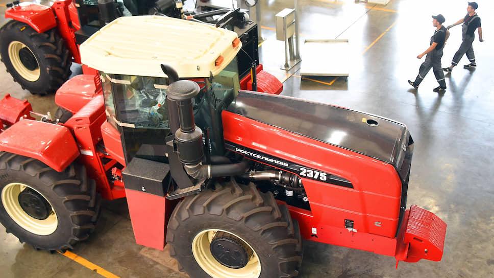 «Ростсельмаш» намерен наладить производство всех серий тракторов Buhler Versatile