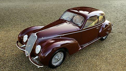 Бенито ля комедия  / 1939 Alfa Romeo 6C 2500 Sport Berlinetta