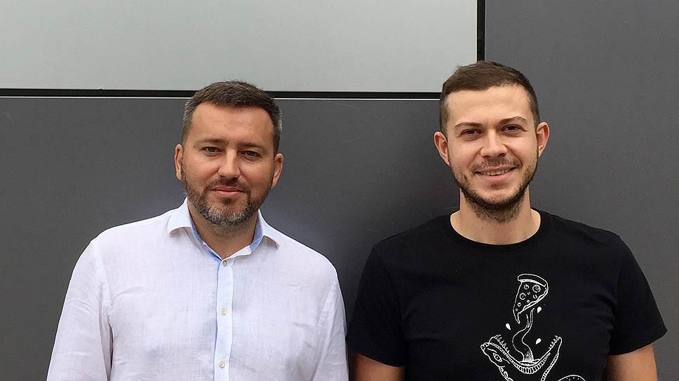 Основатели и владельцы проекта «Голос города» Артем Миронов (слева) и Илья Фейгенов.
