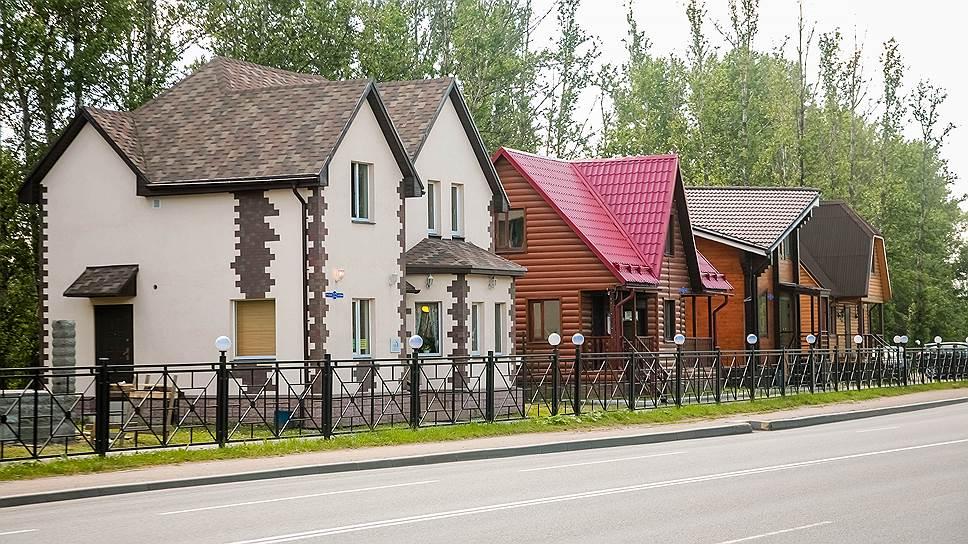 Однотипные дома в коттеджных поселках все меньше привлекают покупателей - застройщики стремятся предоставить клиентам  возможность сделать здания оригинальными