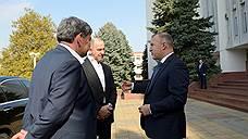 Адыгею с рабочим визитом посетили делегации Карачаево-Черкесии и Кабардино-Балкарии