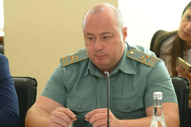Алексей Бумагин, и.о. заместителя начальника Ростовской таможни по правоохранительной деятельности
