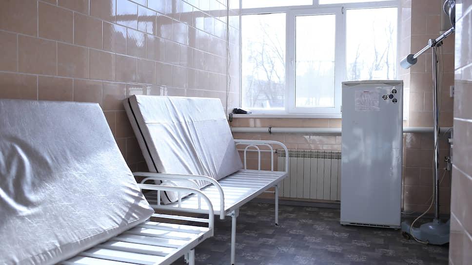 Госпиталь для больных коронавирусом на территории ЦГБ Ростова