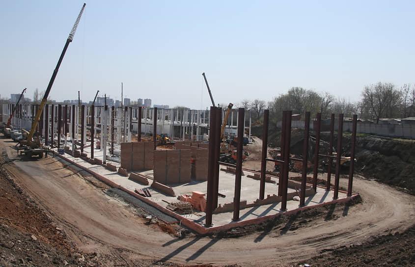 Строительство многофункционального медицинского центра на территории военного клинического госпиталя.