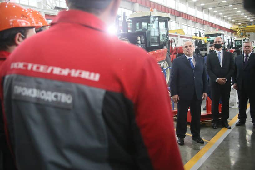 Рабочая поездка председателя правительства России Михаила Мишустина в Ростов-на-Дону.