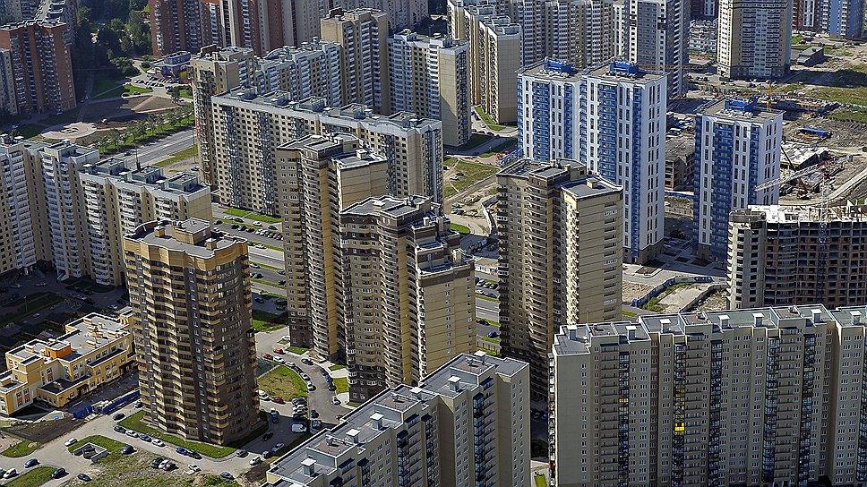 Проекты комплексного освоения территорий обеспечили резкое увеличение объема введенных в эксплуатацию многоквартирных домов в ряде городов юга.