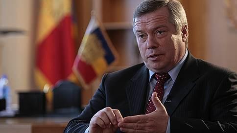 Выбор губернатора Ростовской области Василия Голубева