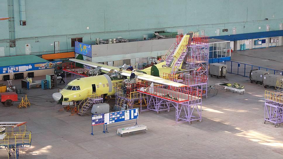 До конца года изимеющихся деталей «Авиакор» все-таки сможет собрать несколько Ан‑140