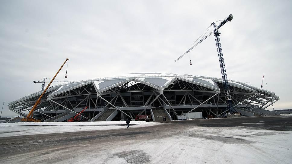 Новый срок сдачи «Самара Арена» — 25апреля, асам ввод объекта вэксплуатацию может произойти ссерьезными недоделками