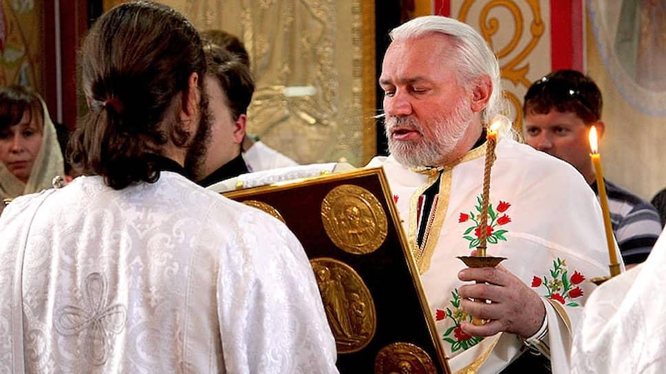 Священника приняли на высшем уровне