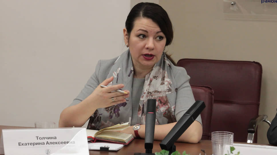 Екатерина Толчина просит органы власти расплатиться cбизнесом завыполненные работы иуслуги, чтобы помочь ему пережить кризис