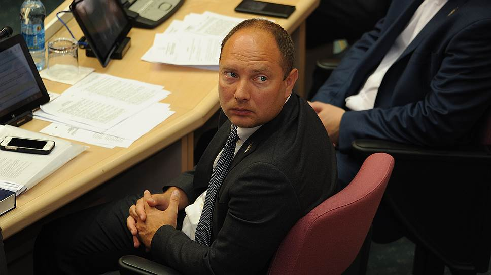 Депутат Самарской губернской думы Михаил Маряхин