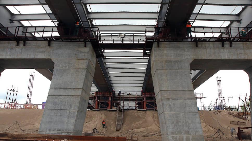 Фрунзенский мост в Самаре построен на 80%