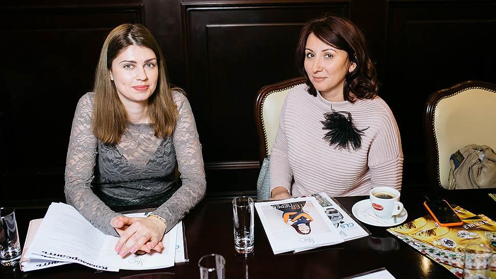 Елена Шатохина и Ольга Вознюк