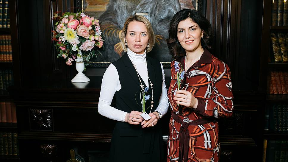 Мария Шахнович и Анаит Бадалян