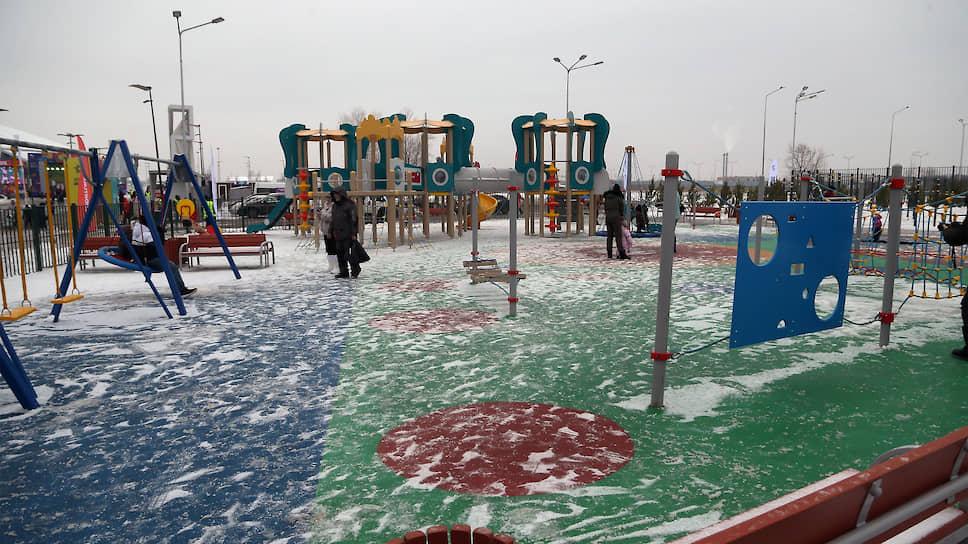 Инклюзивная детская площадка