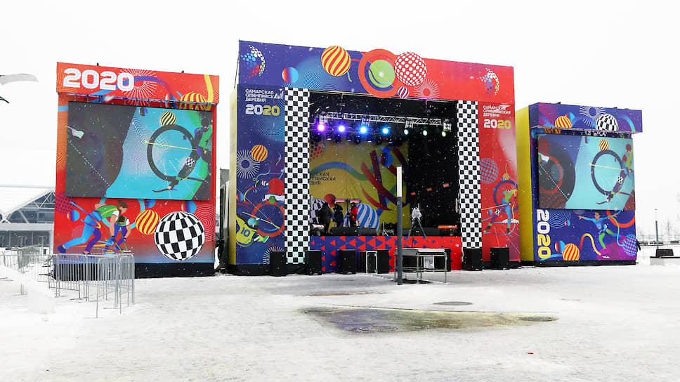 Перед празднованием Нового года здесь открылась «Олимпийская деревня»