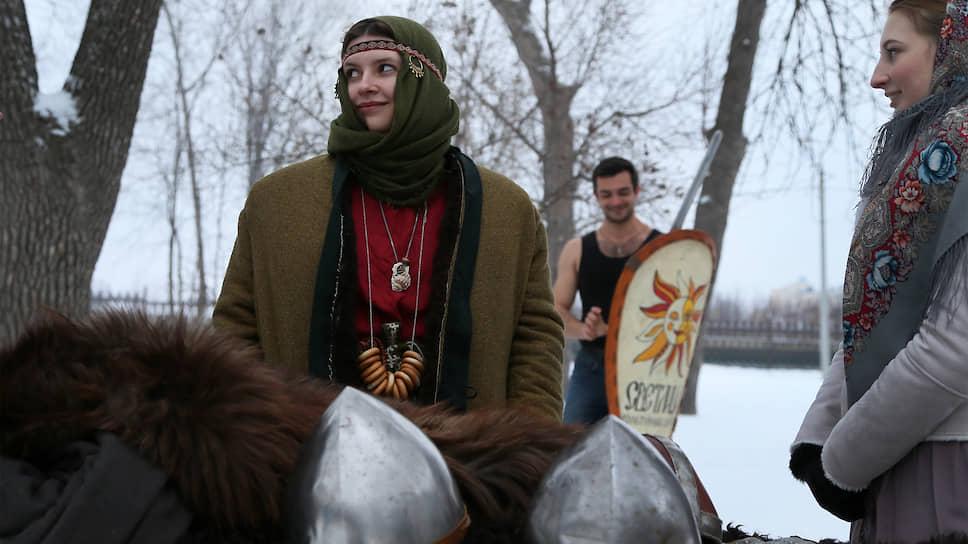 Участники «Славянской зимы»-2020 по традиции провожают уходящий год по старому стилю