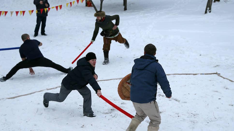 Калейдоскоп зимних русских народных забав