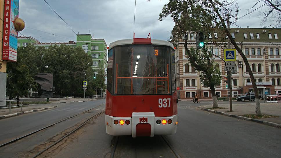 Трамвай — непременный атрибут исторической части Самары.