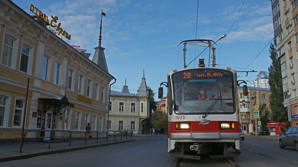 В отличие от многих российских городов в Самаре не стали демонтировать трамвайные пути после распада СССР.